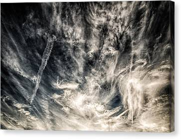 The Clouds Talk Canvas Print