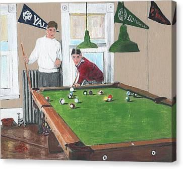 The Club House Canvas Print