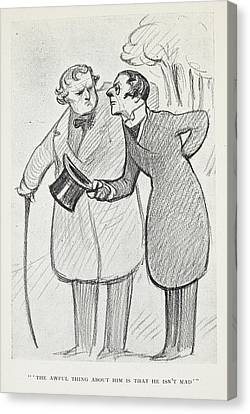The Club Of Queer Trades Canvas Print by British Library