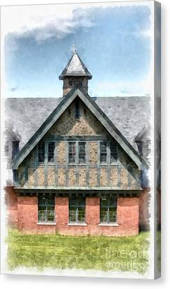 The Coach Barn At Shelburne Farms Canvas Print