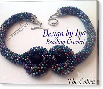 The Cobra Canvas Print by Iya Carson