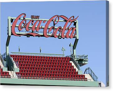 The Coca-cola Corner Canvas Print