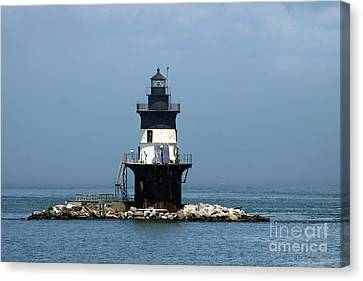 The Coffee Pot Lighthouse Canvas Print by Christiane Schulze Art And Photography