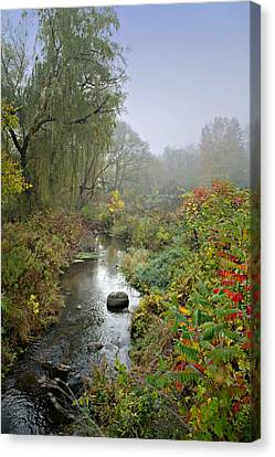 The Color Of Autumn Canvas Print by Judy  Johnson