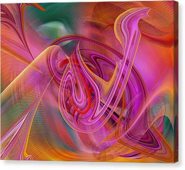 The Color Of Flight Canvas Print