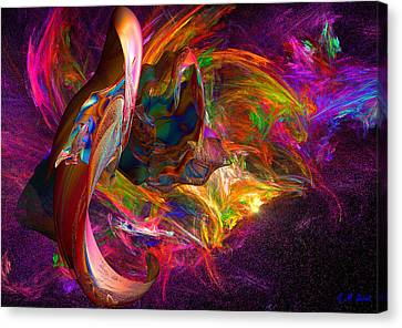 The Color Of Joy Canvas Print by Michael Durst