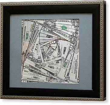 Artisan Canvas Print - The Color Of Money by Ron Davidson