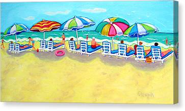 The Color Of Summer  Canvas Print by Rebecca Korpita