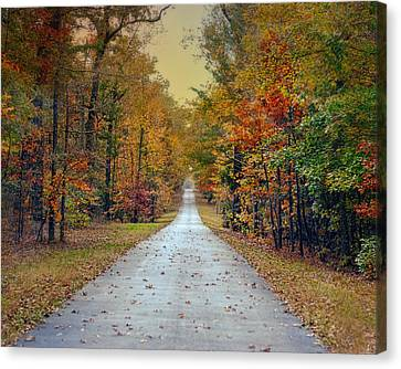 The Colors Of Fall - Autumn Landscape Canvas Print by Jai Johnson