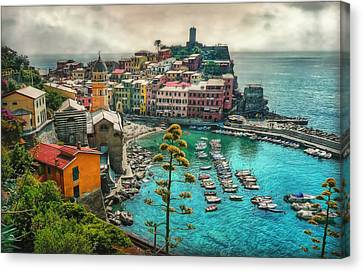 The Colors Of Italy Canvas Print by Hanny Heim