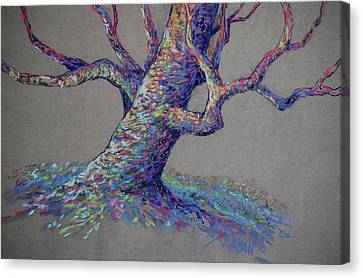 Oaks Canvas Print - The Colors Of Life by Billie Colson