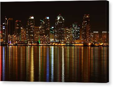 The Colors Of San Diego Canvas Print