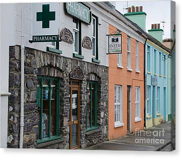 The Colors Of Sneem Canvas Print