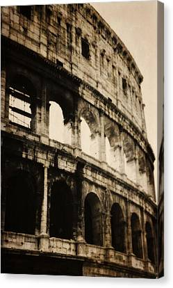 The Colosseum Canvas Print by Dan Sproul