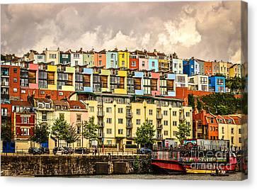 The Colour Of Bristol Canvas Print by David Warrington