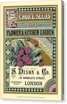 Victorian Garden Canvas Prints Page 15 Of 35 Fine Art America