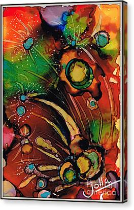 The Colours Of My Mind.. Canvas Print by Jolanta Anna Karolska