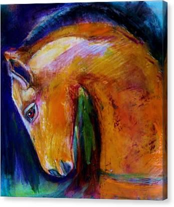 The Colt Canvas Print by Jean Cormier