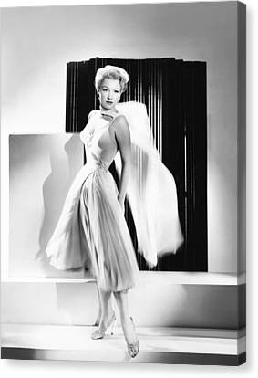 The Come On, Anne Baxter Canvas Print by Everett