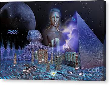 The Coming Age Canvas Print by Shadowlea Is