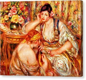 The Concert Canvas Print by Pierre Auguste Renoir