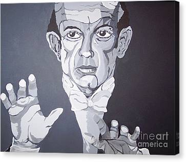 The Conductor Canvas Print by Lucia Grilletto
