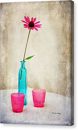 The Coneflower Canvas Print
