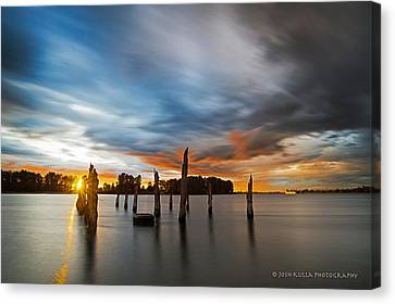 D700 Canvas Print - The Confluence by Josh Kulla