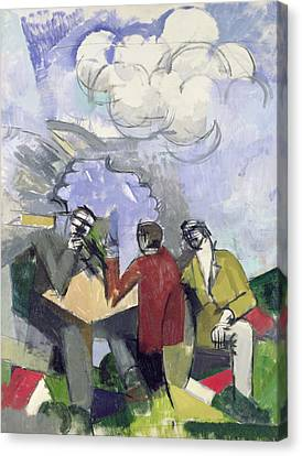 The Conquest Of The Air Canvas Print by Roger de La Fresnaye