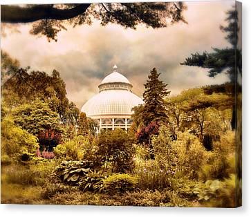 The Conservatory Canvas Print by Jessica Jenney