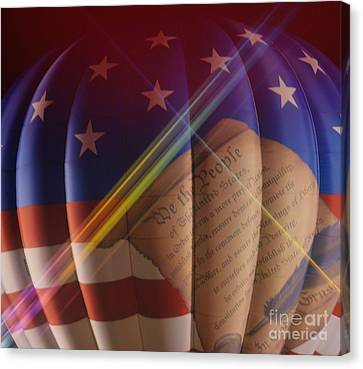 The Constitution Canvas Print by Janice Spivey