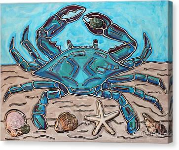 The Content Crab Canvas Print