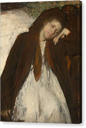 The Convalescent Canvas Print by Edgar Degas