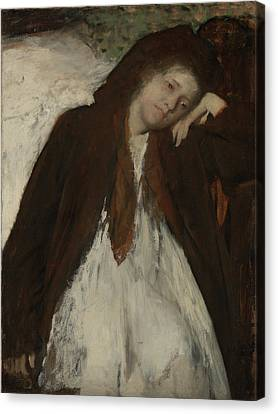 The Convalescent Edgar Degas, French Canvas Print by Litz Collection