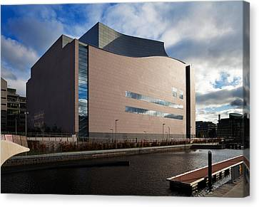 Dublin Building Colors Canvas Print - The Convention Centre Dublin , Dublin by Panoramic Images