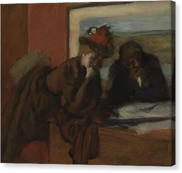 The Conversation, 1885-95 Canvas Print