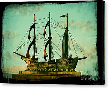 The Copper Ship Canvas Print by Colleen Kammerer