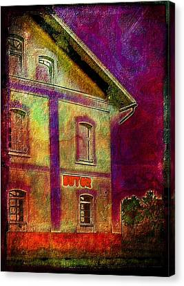 The Corner Store Canvas Print by Mimulux patricia no No