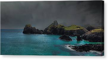 The Cornish Coast Canvas Print
