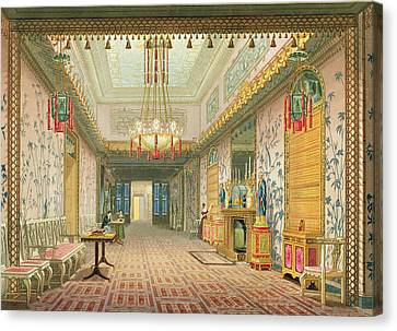 The Corridor Or Long Gallery Canvas Print