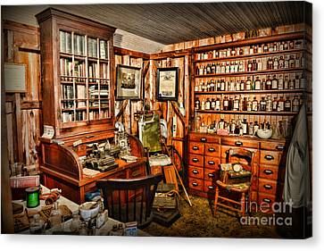 The Country Doctor Canvas Print by Paul Ward