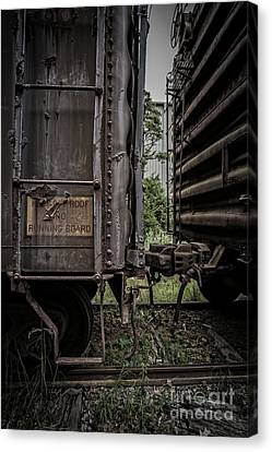 The Coupling Canvas Print