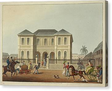 The Court House Canvas Print by British Library