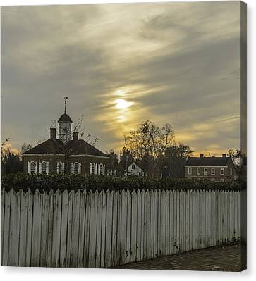 The Courthouse At Colonial Williamsburg Canvas Print