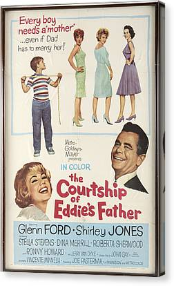The Courtship Of Eddie's Father Canvas Print by Mountain Dreams