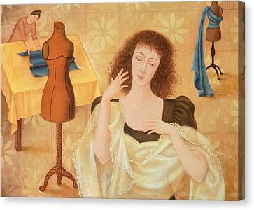 The Couturiers, 1996 Canvas Print by Patricia O'Brien