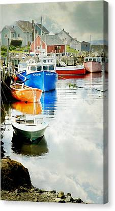 The Cove Canvas Print by Diana Angstadt