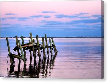 The Cove Dock Canvas Print
