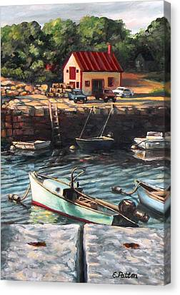 The Cove Canvas Print by Eileen Patten Oliver