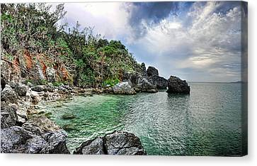 China Cove Canvas Print - The Cove by Ryan Wyckoff